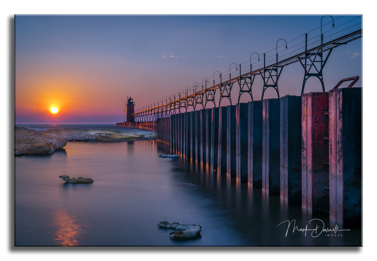 South Haven Pierhead by Mark Darnell