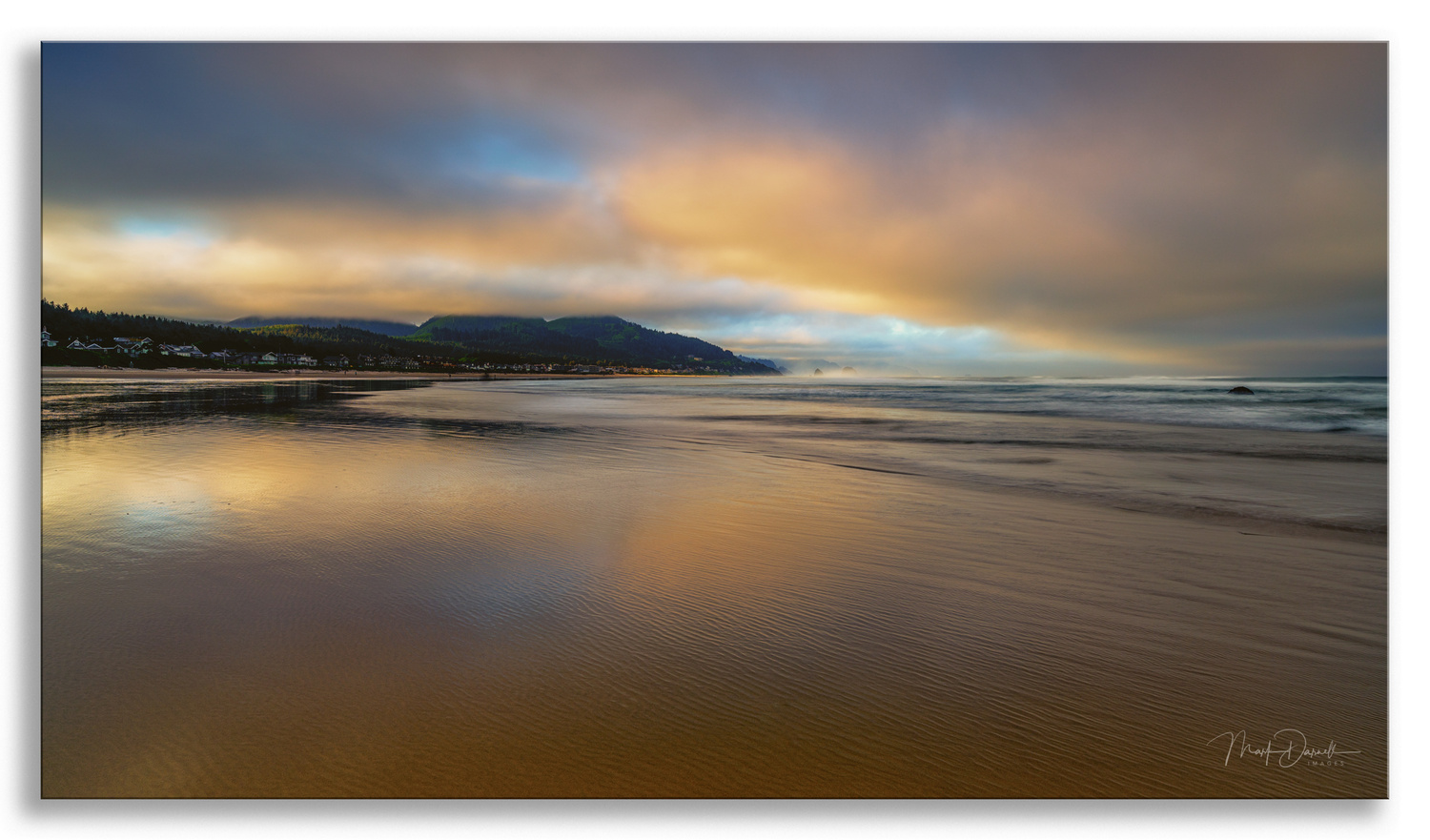 Canon Beach Morning Cloud Cover by Mark Darnell