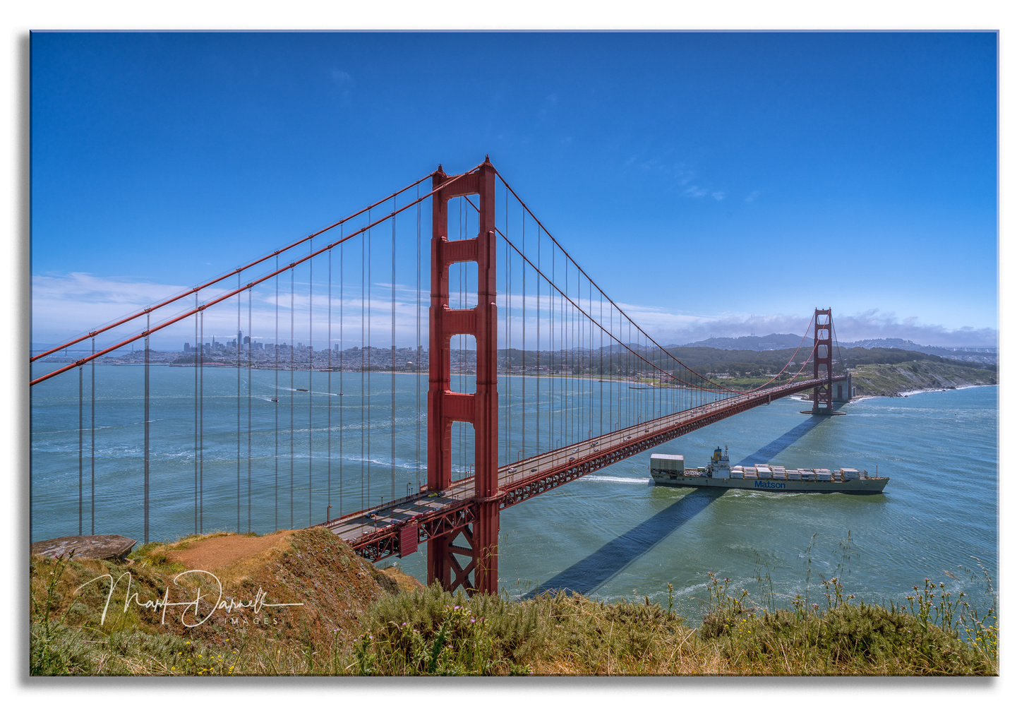 Golden Gate Passage by Mark Darnell