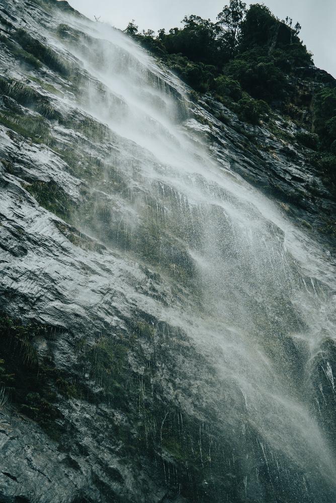 Rainfall Te Anau by Tom Minton