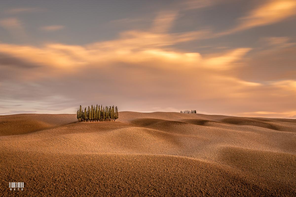 Tuscany by RYSZARD LOMNICKI
