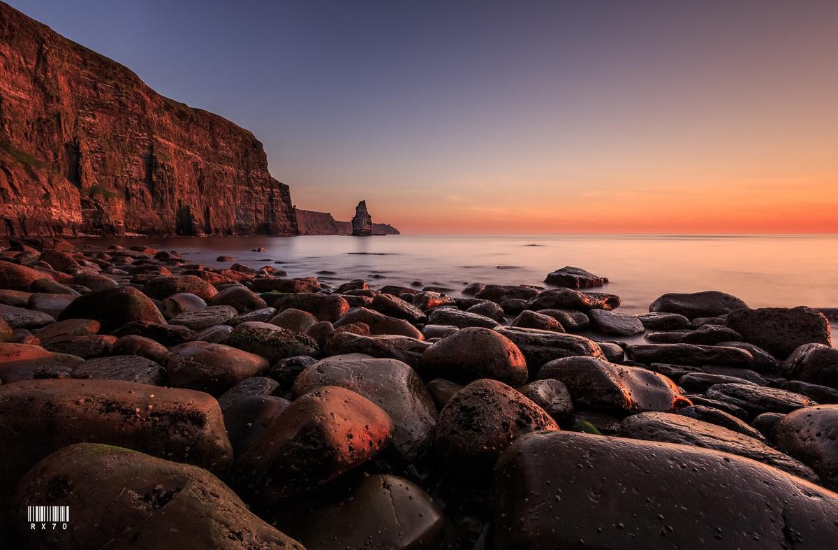 Cliffs of Moher by RYSZARD LOMNICKI