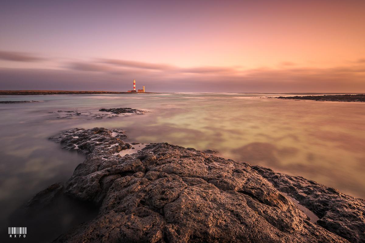 Tostón Lighthouse by RYSZARD LOMNICKI