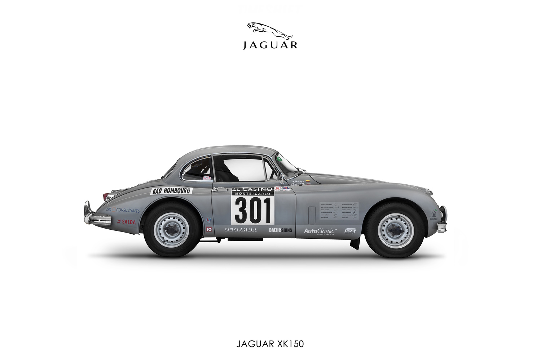 Jaguar XK150 by Donatas Juša