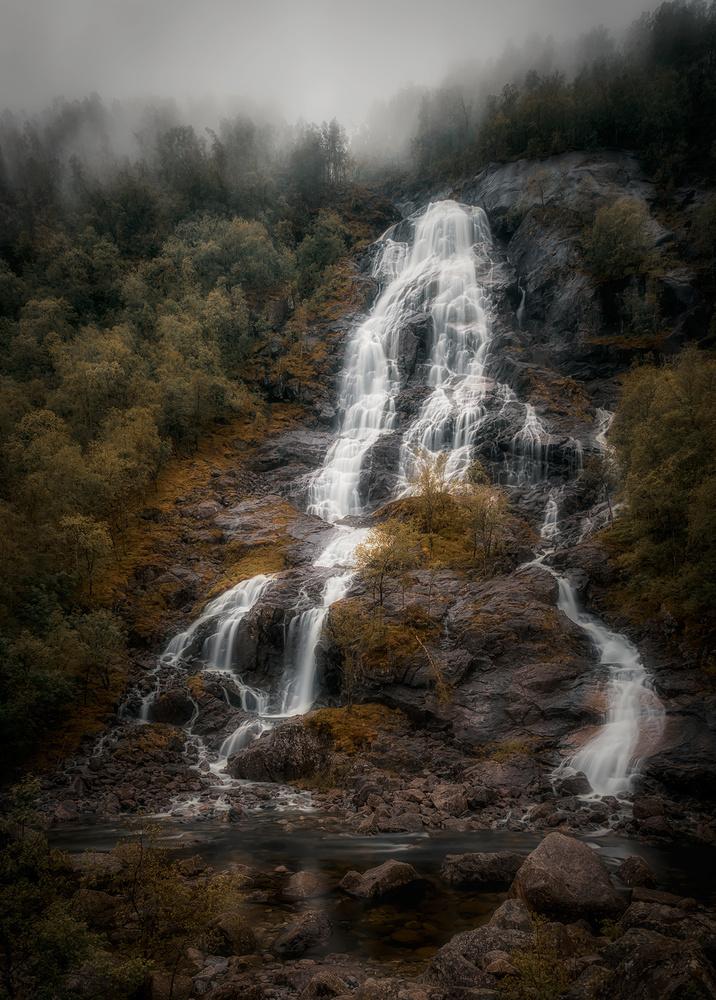 Flesefoss by Allan Aasland
