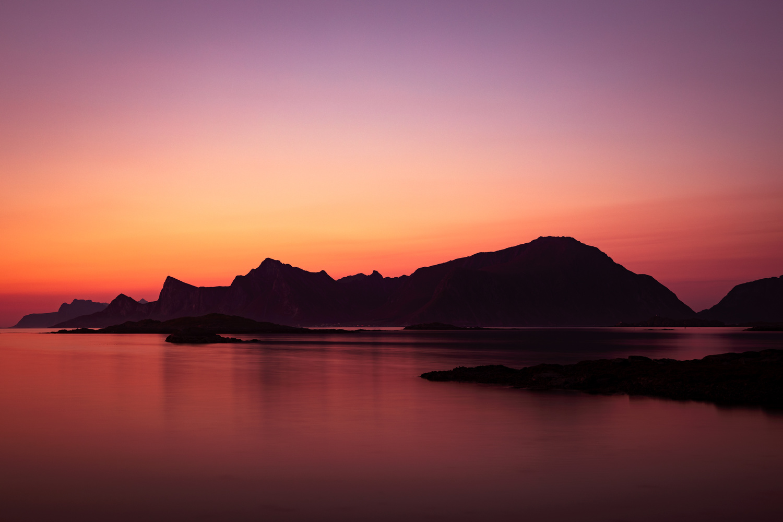 Midnight sun by Allan Aasland
