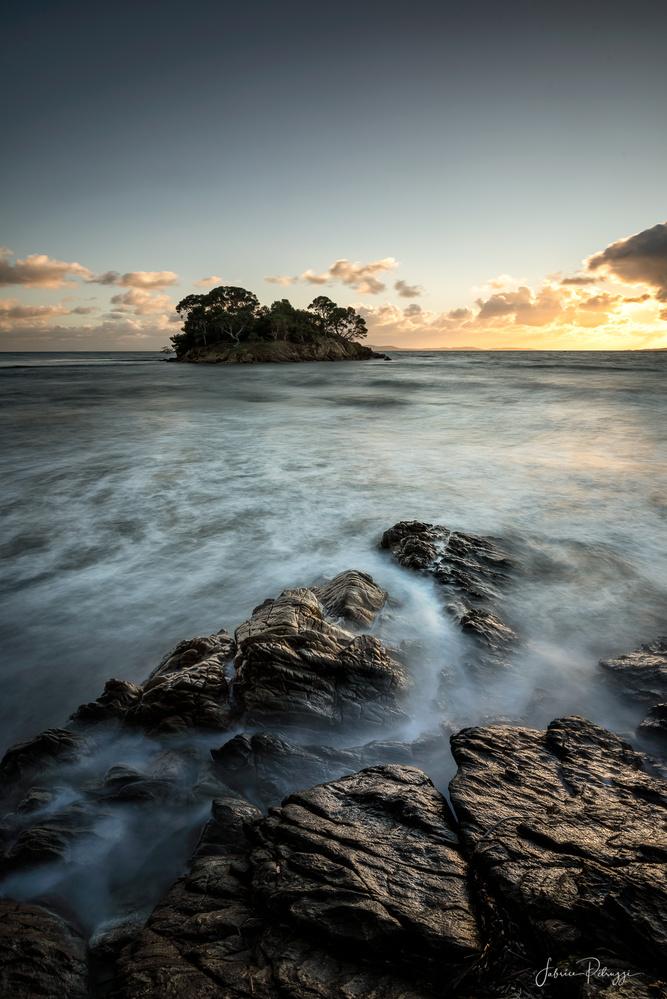 Sunset Island by Fabrice Petruzzi
