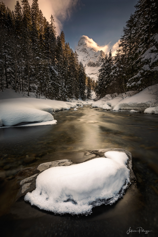 A Winterscape by Fabrice Petruzzi