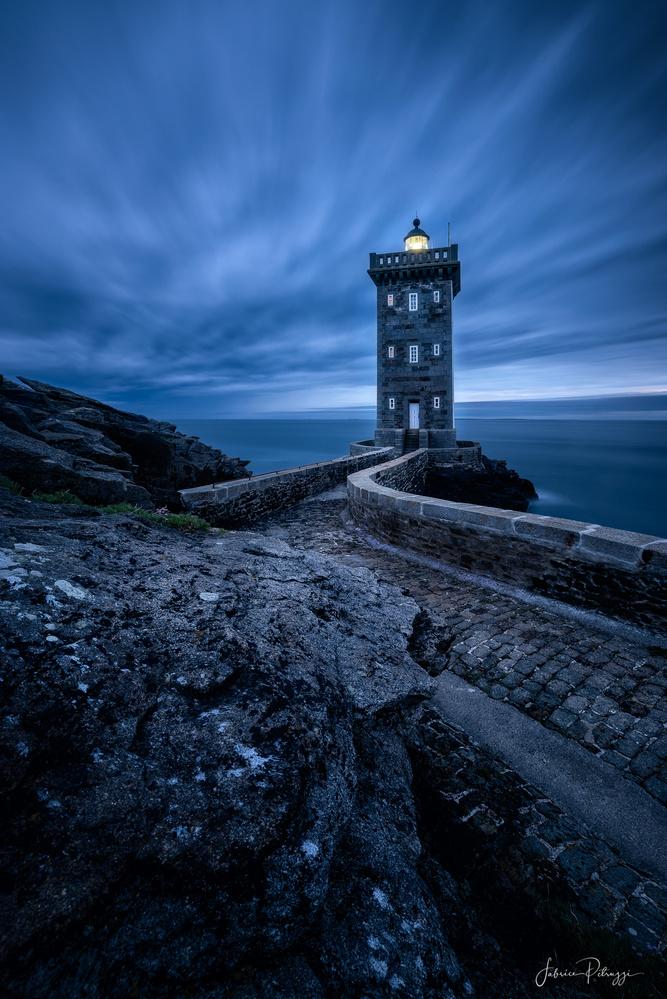Kermorvan Lighthouse by Fabrice Petruzzi