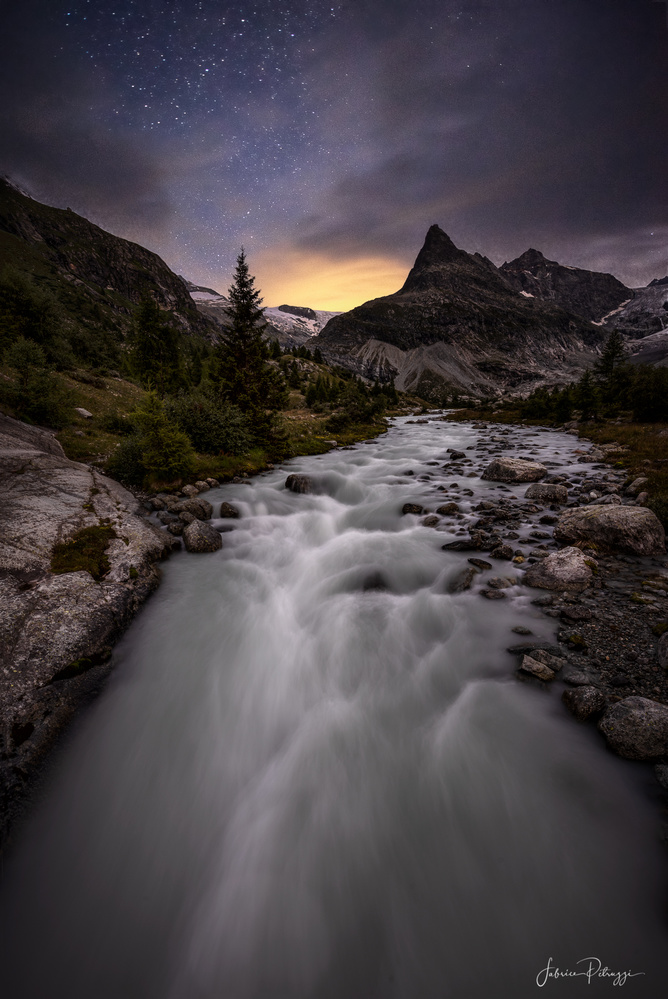 Dark and Cloudy by Fabrice Petruzzi