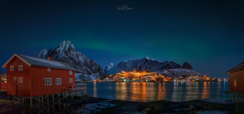 One night in the Arctic by Ignacio Municio