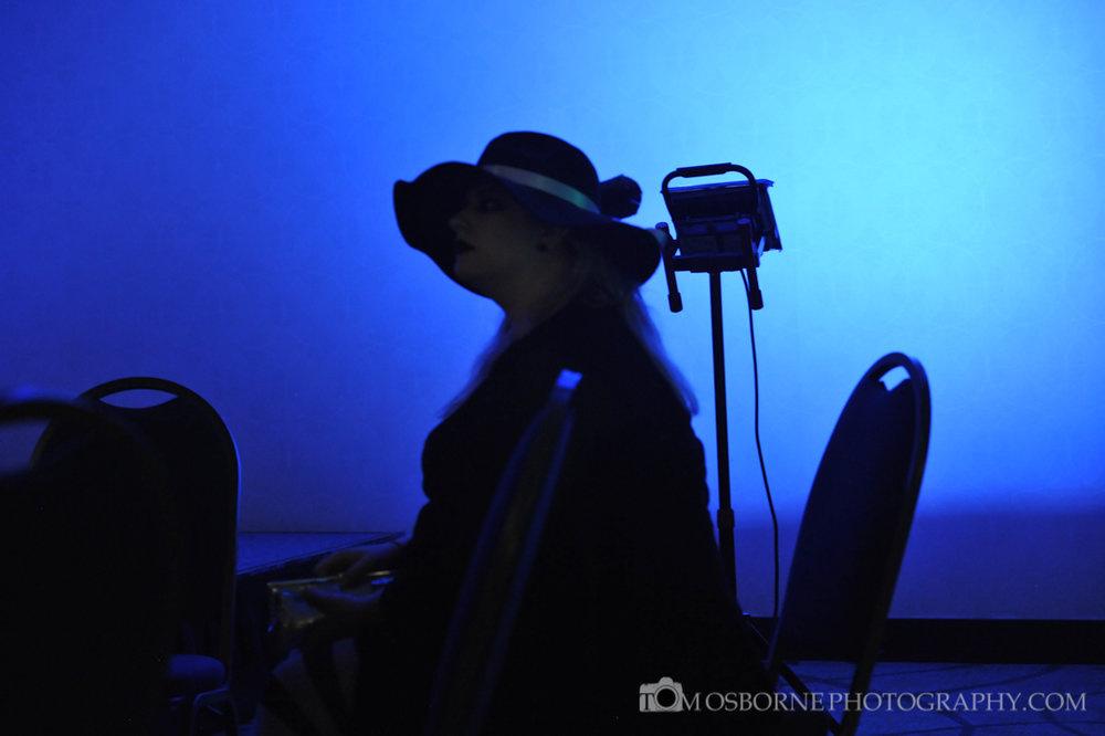 Mystery Woman in Shadow by John Osborne