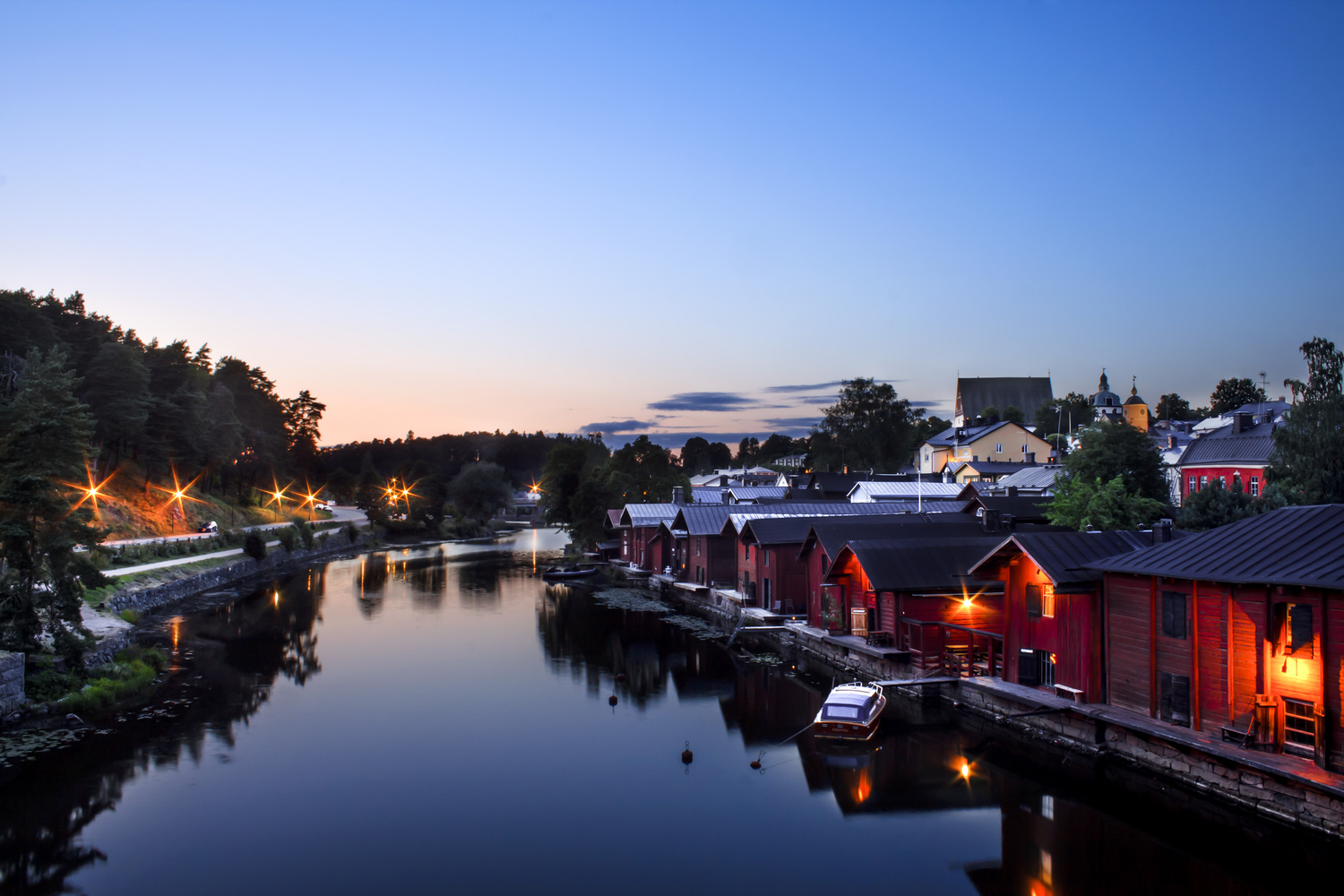 Old Town Porvoo 2 by Natasha Weedman