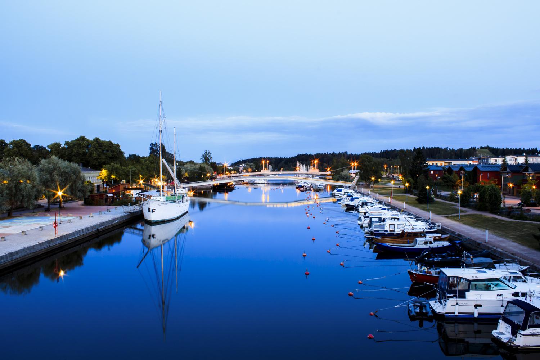 Porvoonjoki River by Natasha Weedman