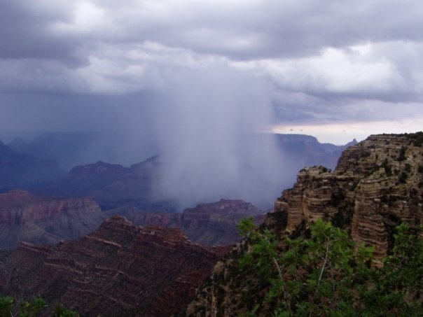 Storm in the Grand Canyon by DIANA RUBIN