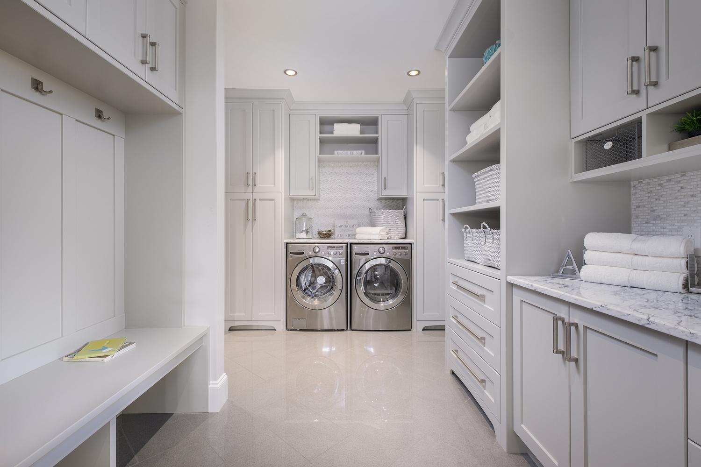 Spacious Laundry Room by Jay Cubitt