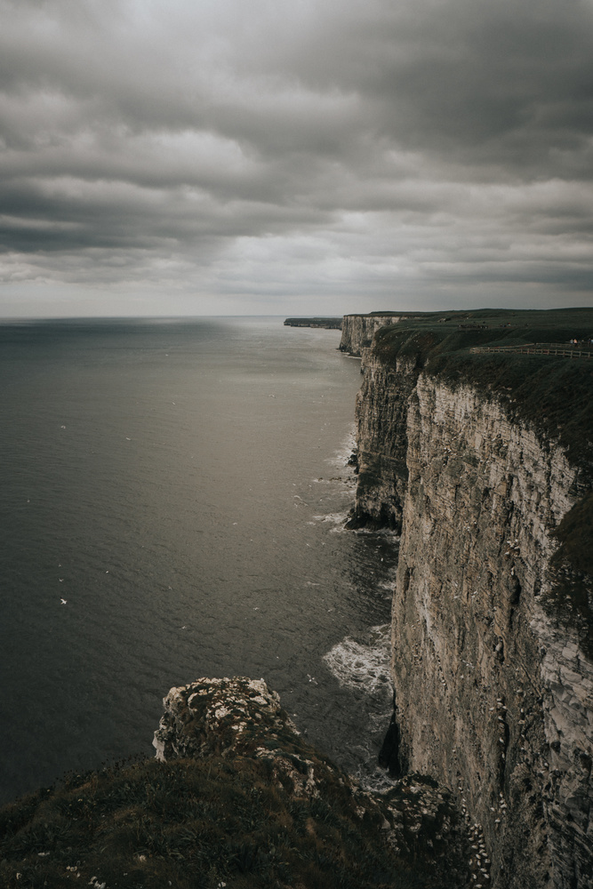 The Moody Cliffs by Rich Doney