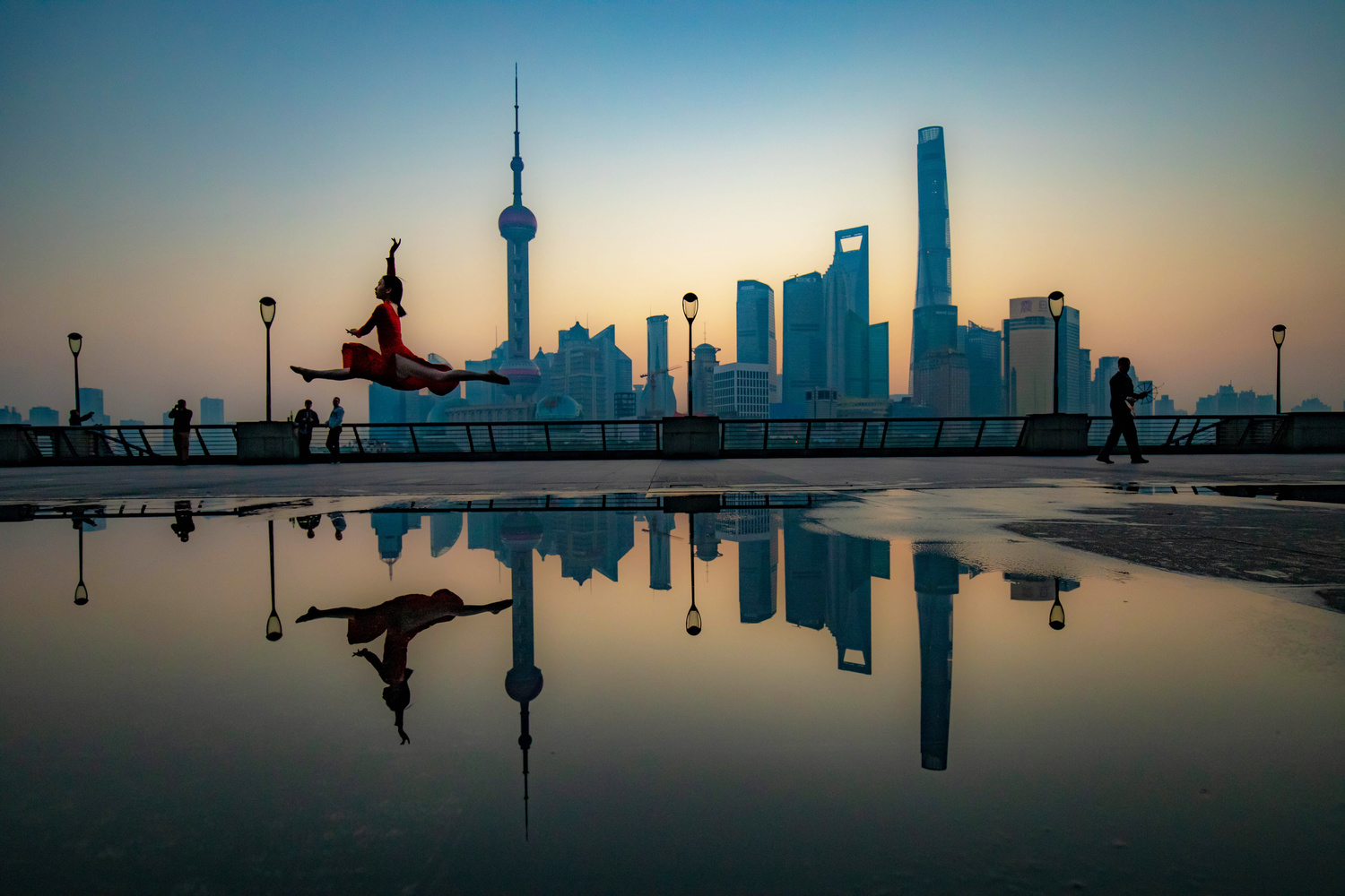 Shanghai Morning Dance by Peter Scholz