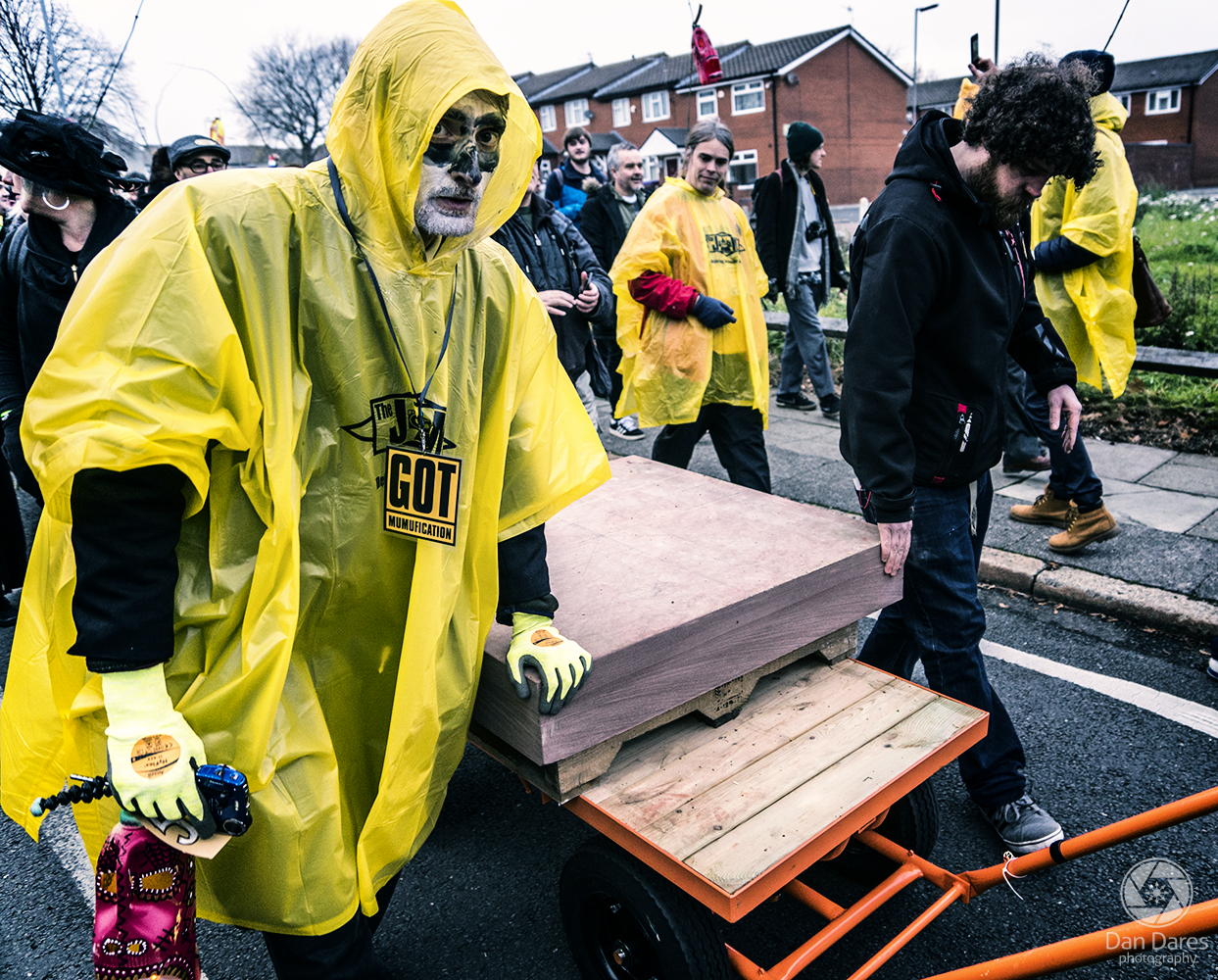 toxteth day of the dead by Dan Dares