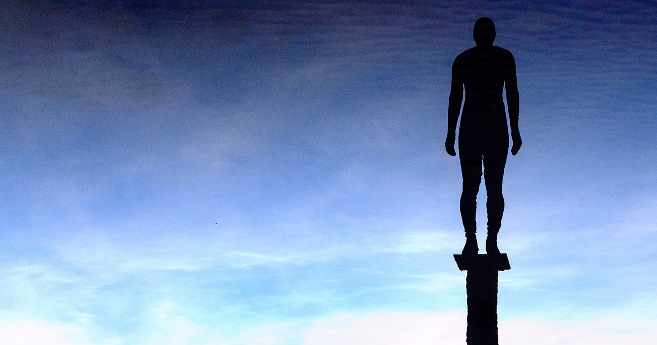 iron man in sky by Dan Dares