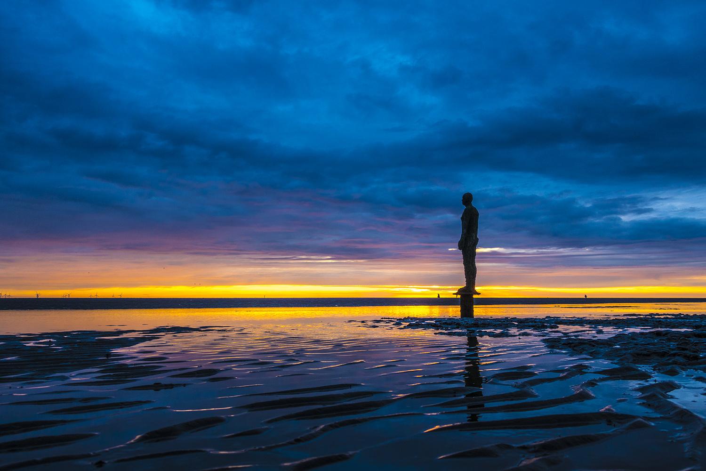 iron man at sunset by Dan Dares