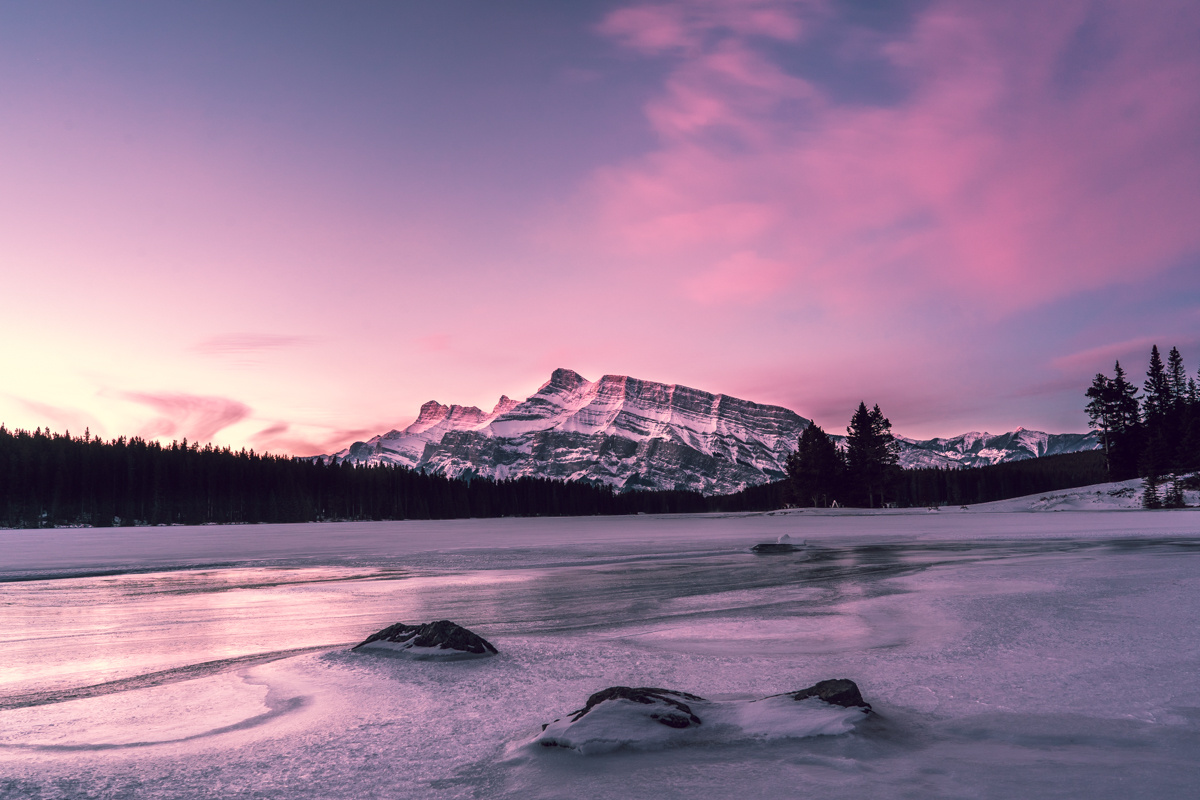 Pink Skies by Brayden Mah