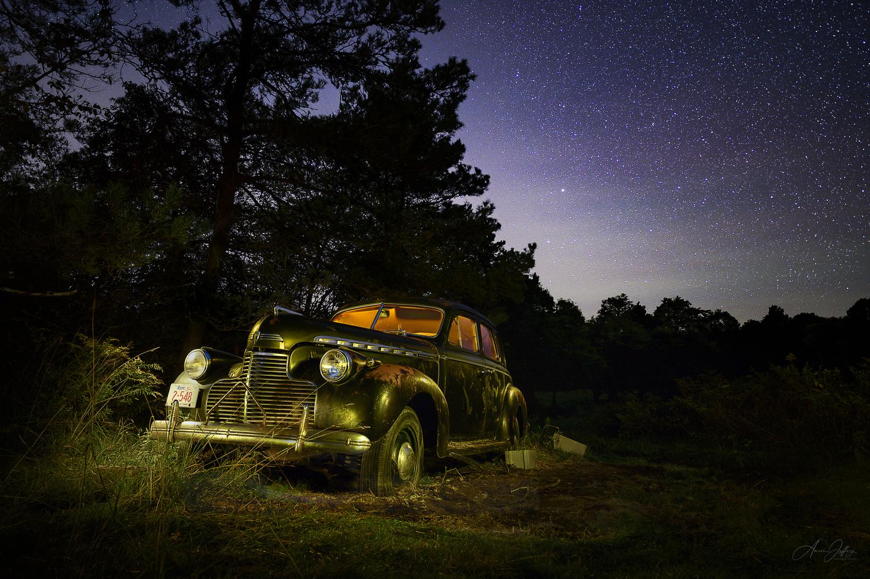 1940 Chevrolet Special Deluxe by Aaron Jeffery