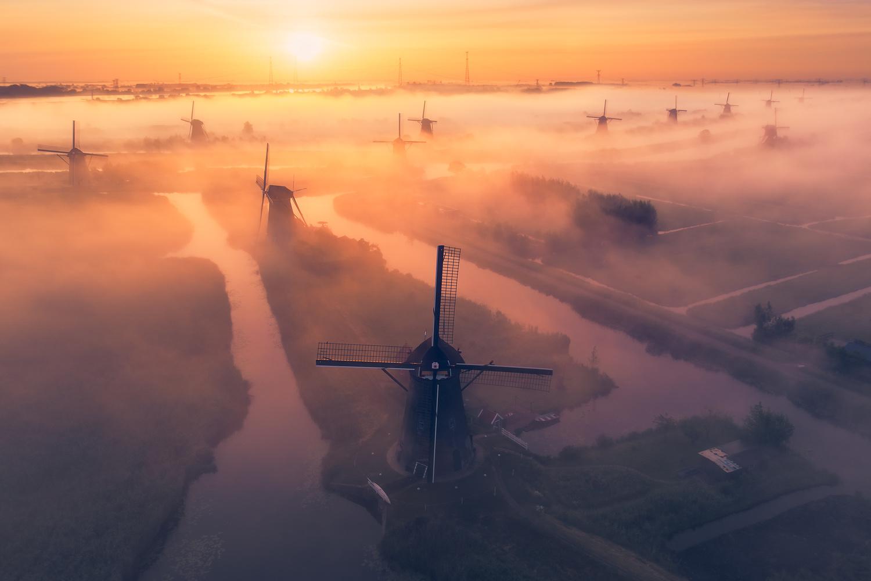 Windmill Bonanza by Vincent Fennis