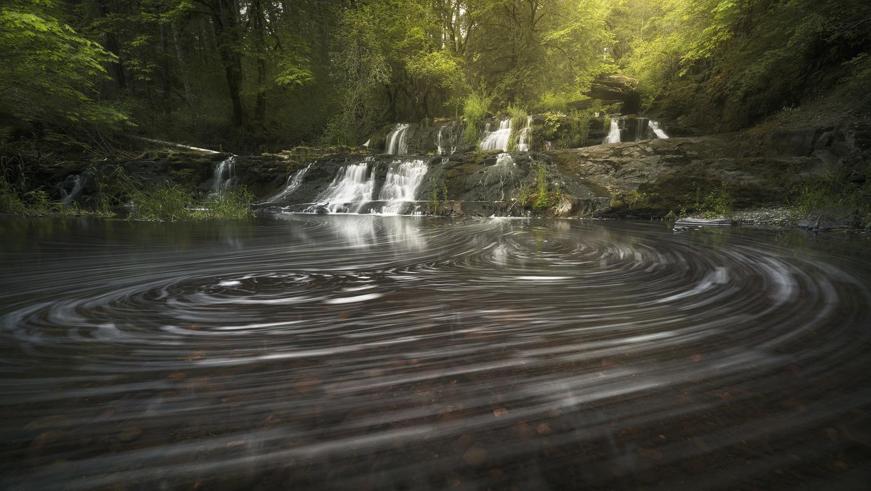 Lothlorien Falls by Eric Thiessen