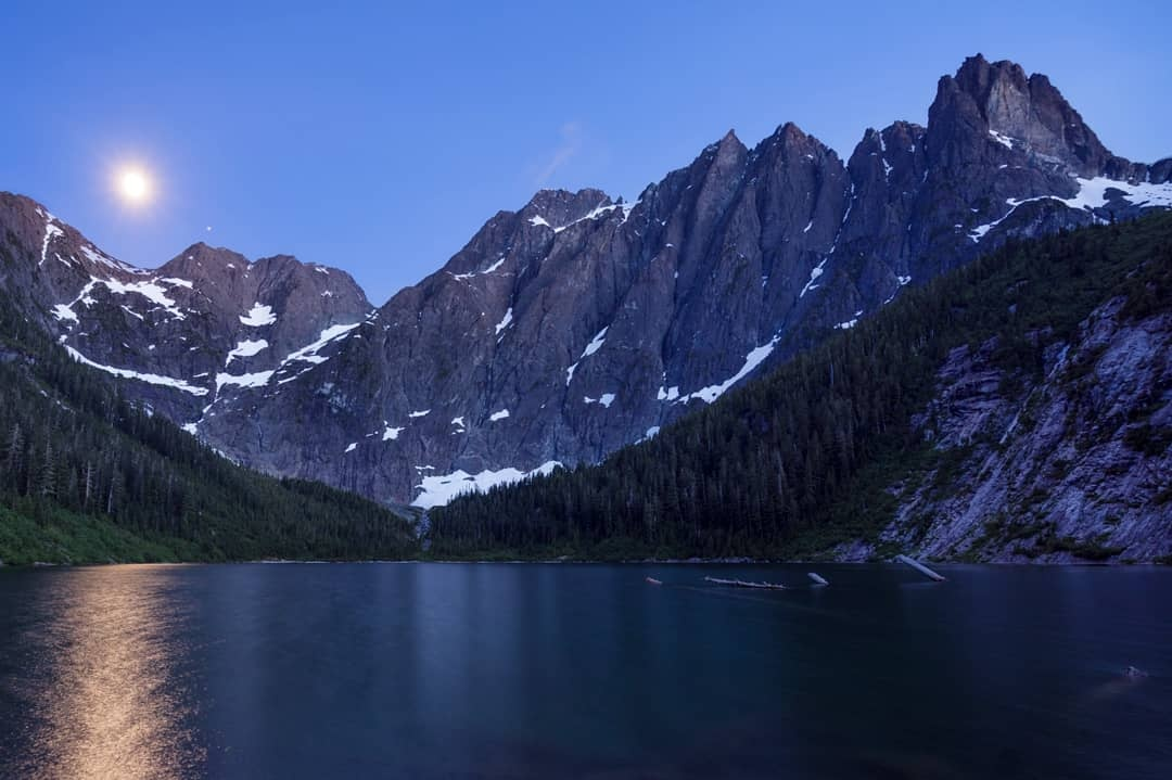 Landslide Lake by Eric Thiessen