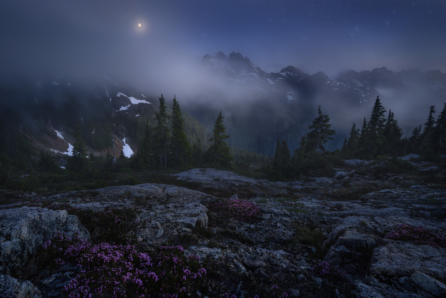 The Veil of Night by Eric Thiessen