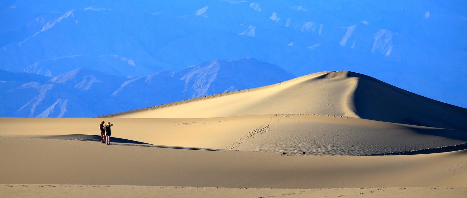 death valley sand dunes by Jean Dawkins