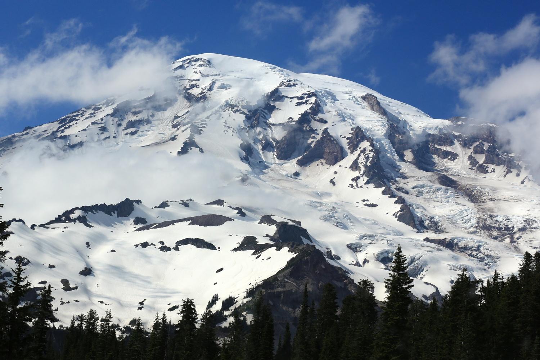 Mount Rainer by Jean Dawkins