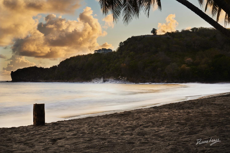 Sunset Shoreline by Duane Lewis