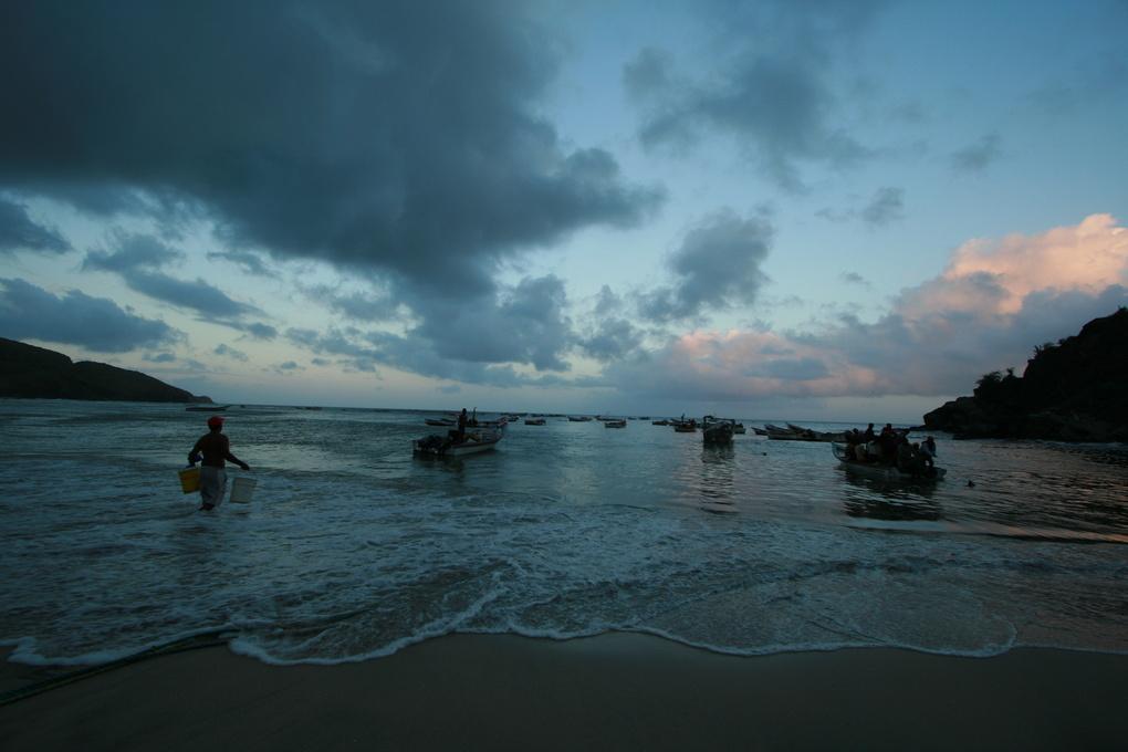 Manzanillo Beach by Nicolas Ramos
