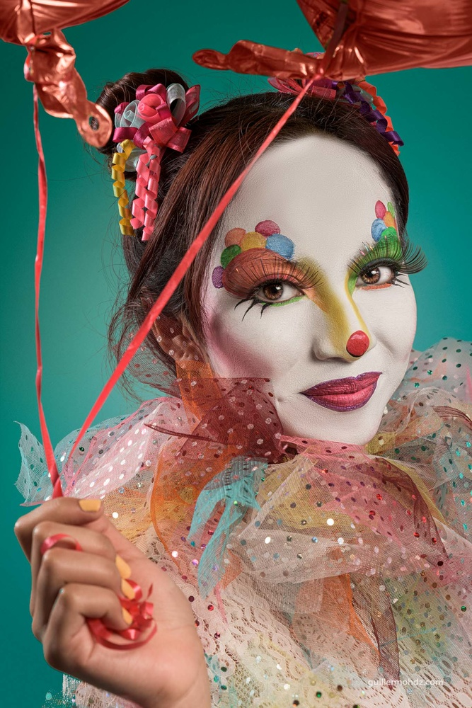 Clown by Guillermo Hernández Mendoza