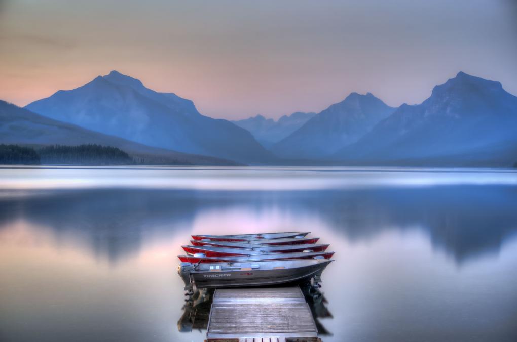Lake McDonald by Glenn Barclay