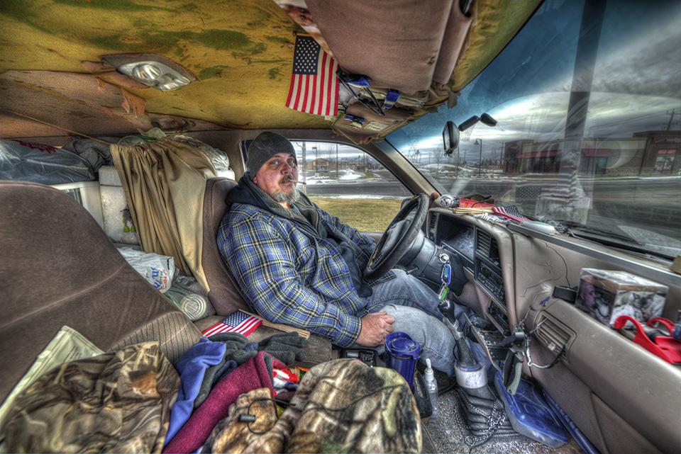 Homeless in Montana by Glenn Barclay