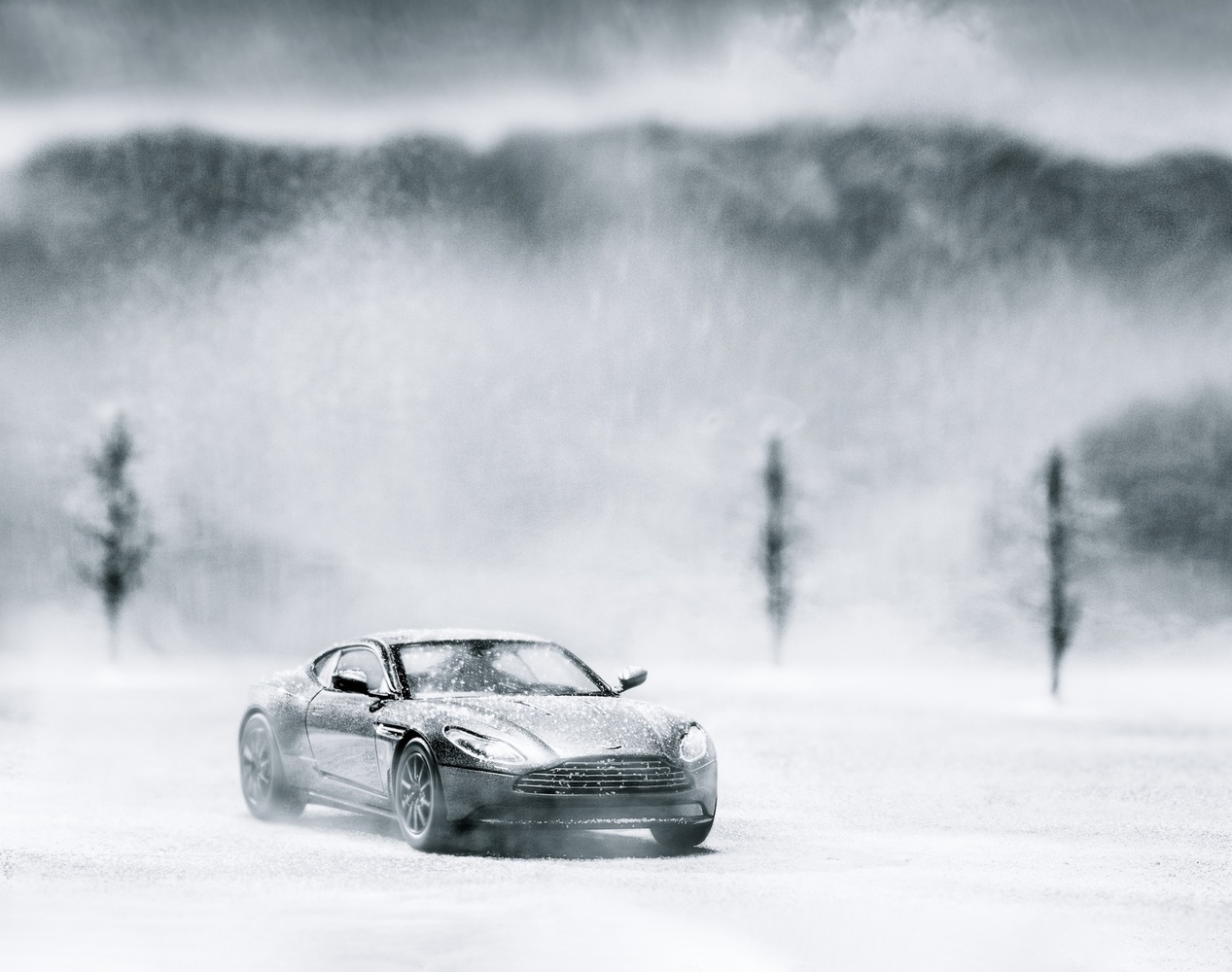 Frozen - Aston Martin DB11 - Scale Model by Chase Hirt