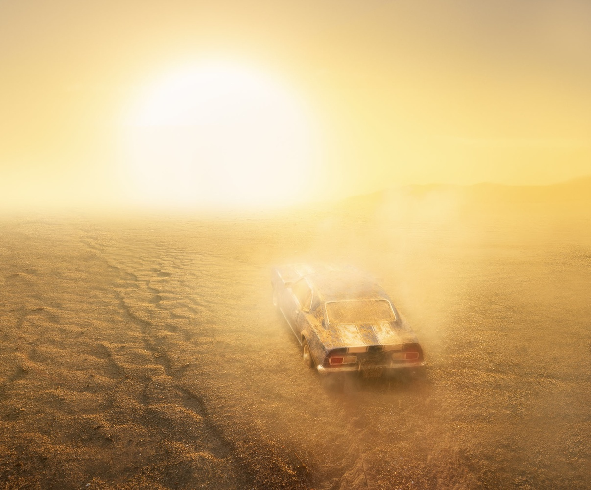 Sunkissed- Desert Camaro - Scale Model by Chase Hirt