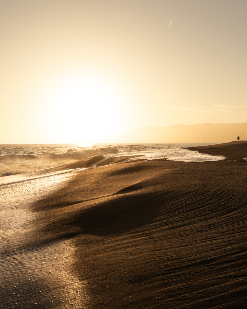 Lone Beach by Chase Hirt