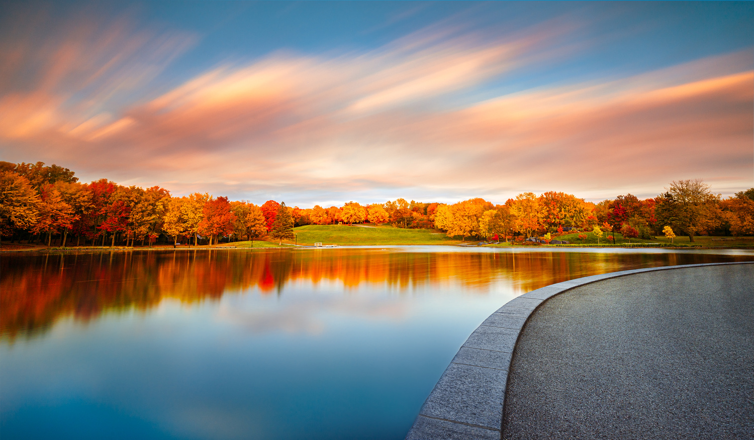 Beaver Lake in Autumn by Chase Hirt