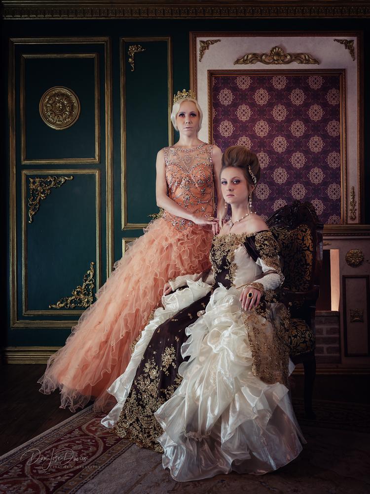 Victorian Ladies by Don Jose Romulo Davies