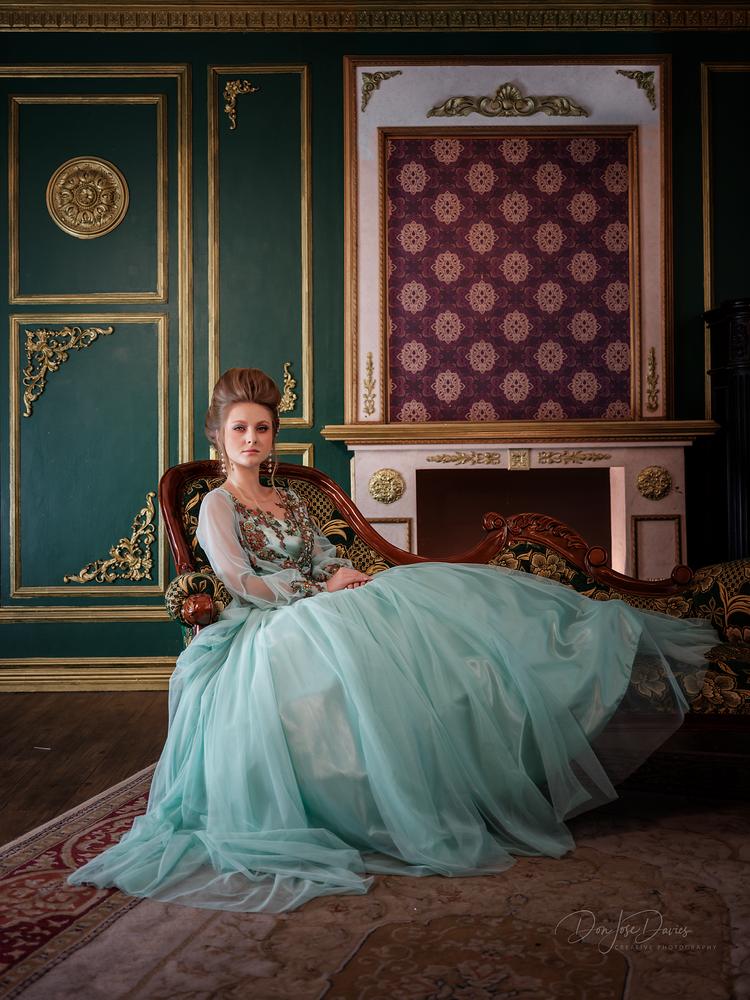 Victorian Lady by Don Jose Romulo Davies