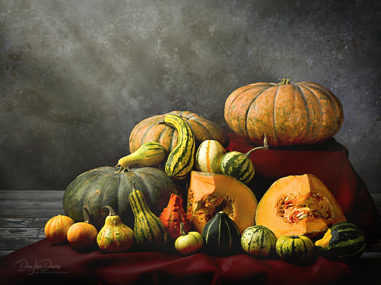 Pumpkins by Don Jose Romulo Davies