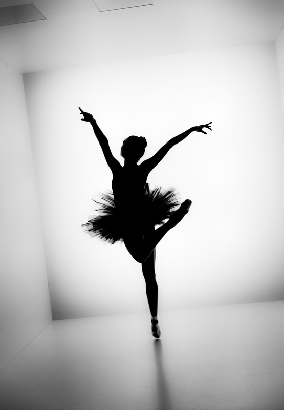 Ballet Silhouette 631 by TiiLT Imagewerks