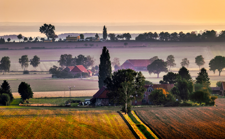 Landscape in Lower Saxony, Germany by Torsten Sasse