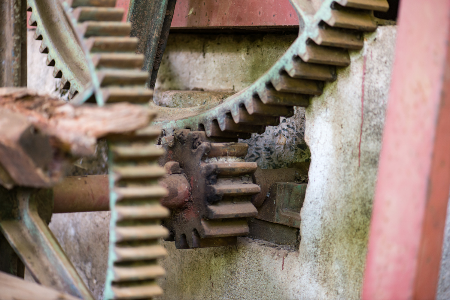 Old Gears by Ryan Rees