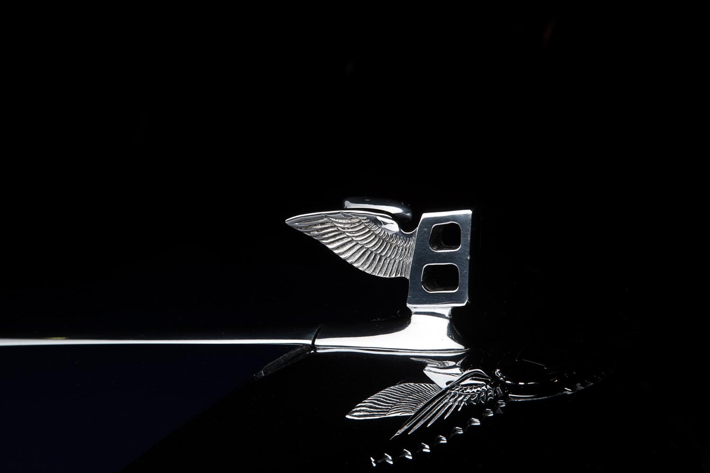 Bentley hood ornament by Mark Metcalf