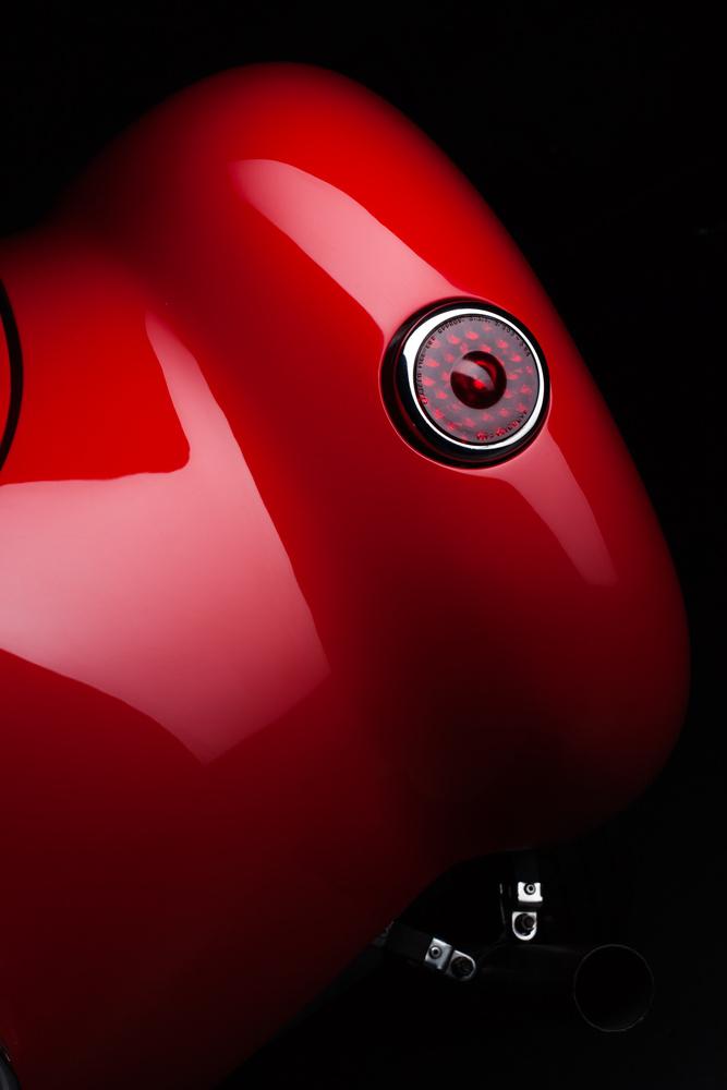 Ferrari 225 sport spyder by Mark Metcalf